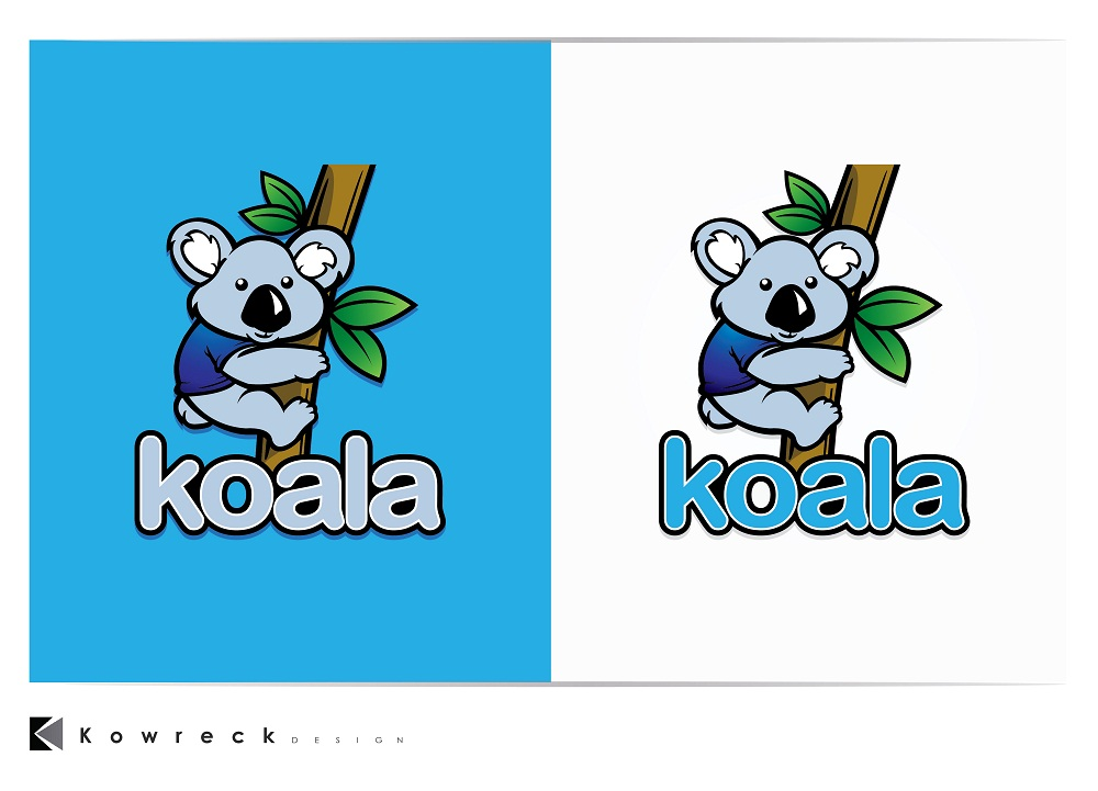"Logo Design by kowreck - Entry No. 97 in the Logo Design Contest Imaginative Logo Design for ""Koala""."