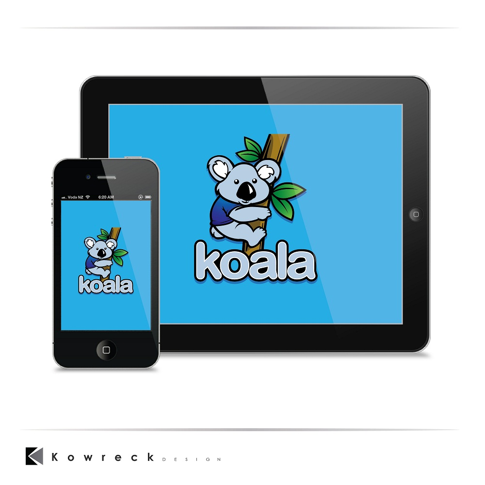 "Logo Design by kowreck - Entry No. 98 in the Logo Design Contest Imaginative Logo Design for ""Koala""."