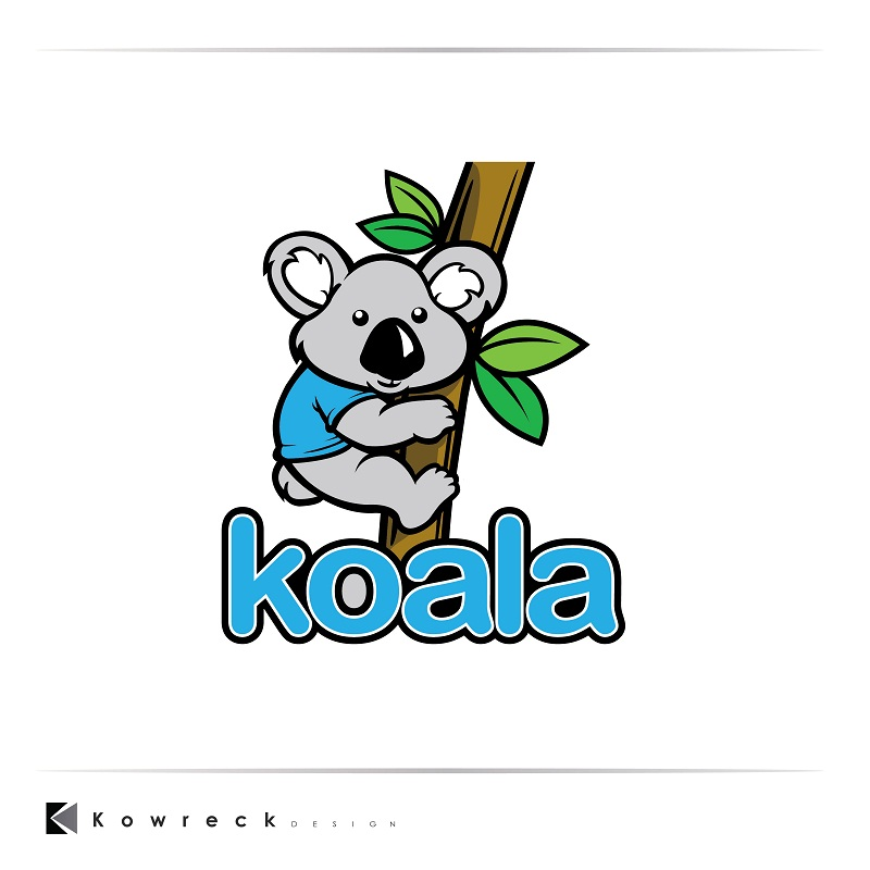 "Logo Design by kowreck - Entry No. 101 in the Logo Design Contest Imaginative Logo Design for ""Koala""."