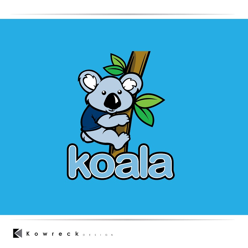 "Logo Design by kowreck - Entry No. 102 in the Logo Design Contest Imaginative Logo Design for ""Koala""."