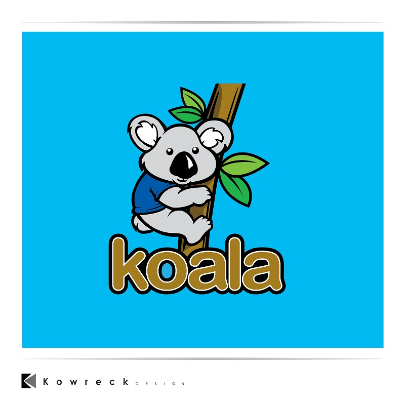 "Logo Design by kowreck - Entry No. 103 in the Logo Design Contest Imaginative Logo Design for ""Koala""."