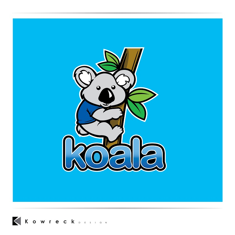 "Logo Design by kowreck - Entry No. 104 in the Logo Design Contest Imaginative Logo Design for ""Koala""."