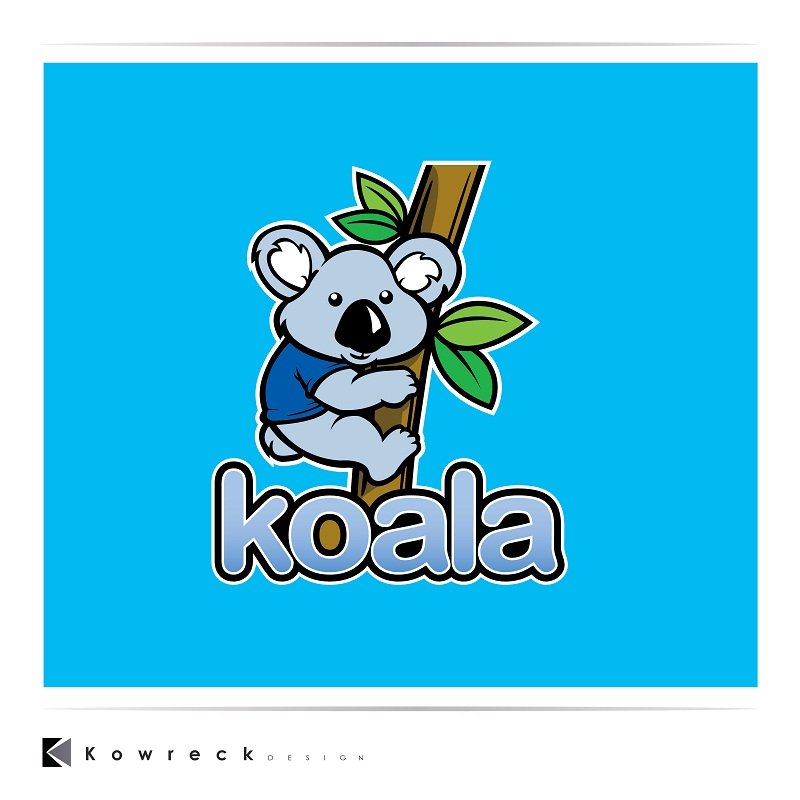 "Logo Design by kowreck - Entry No. 105 in the Logo Design Contest Imaginative Logo Design for ""Koala""."