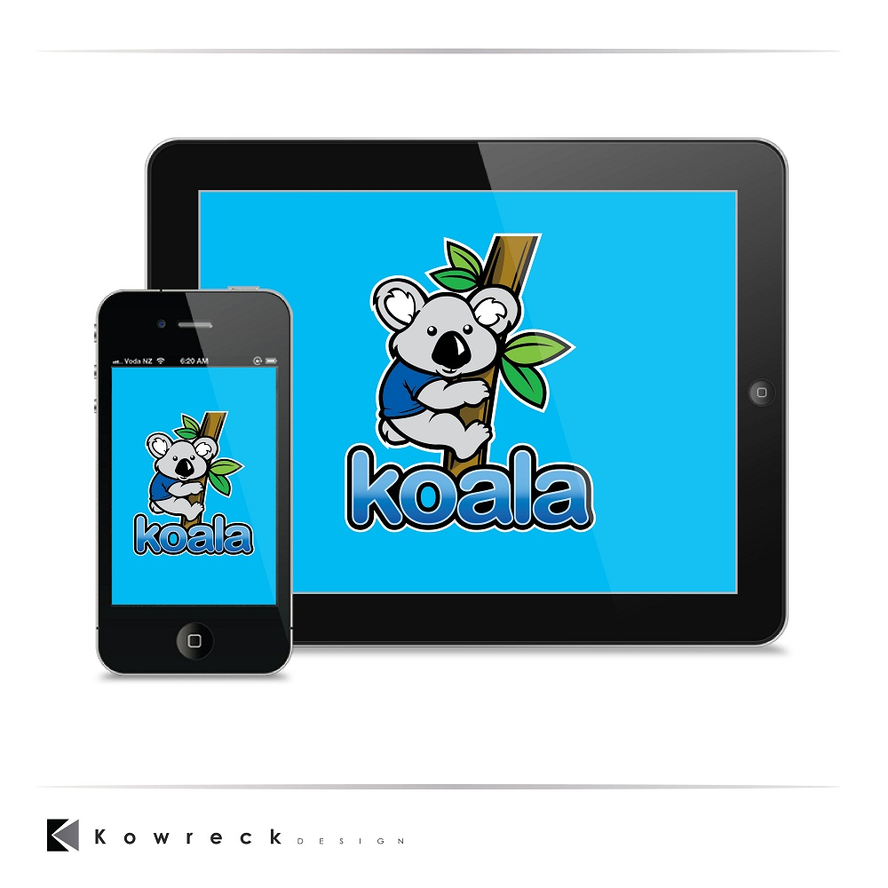 "Logo Design by kowreck - Entry No. 106 in the Logo Design Contest Imaginative Logo Design for ""Koala""."