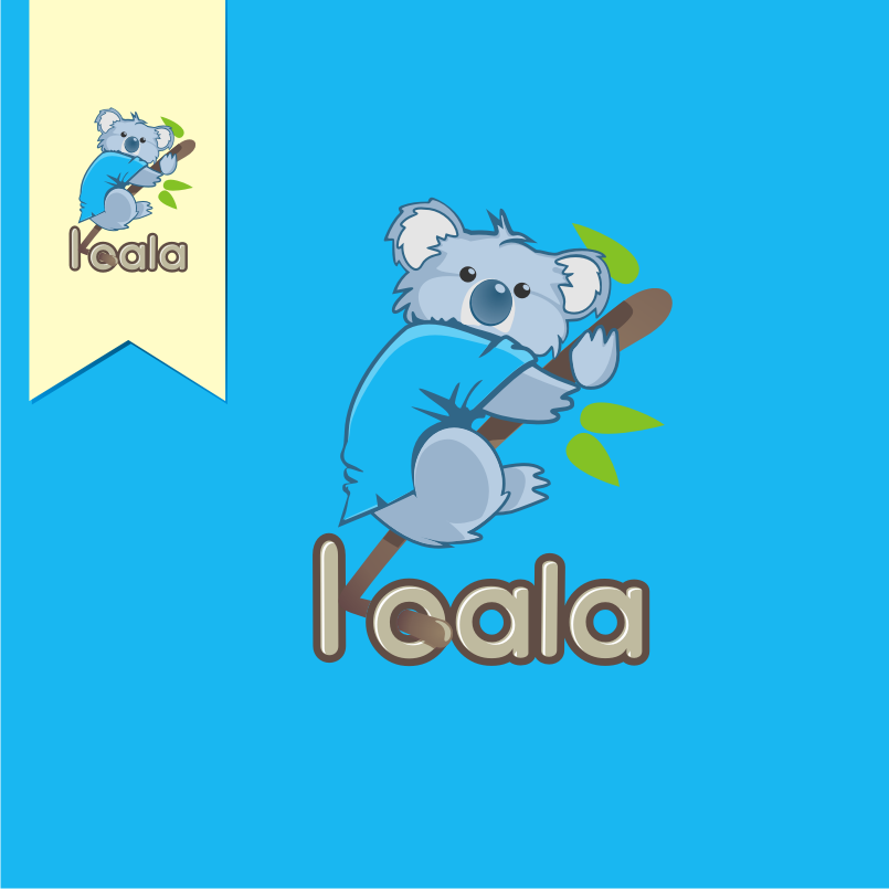 "Logo Design by graphicleaf - Entry No. 107 in the Logo Design Contest Imaginative Logo Design for ""Koala""."