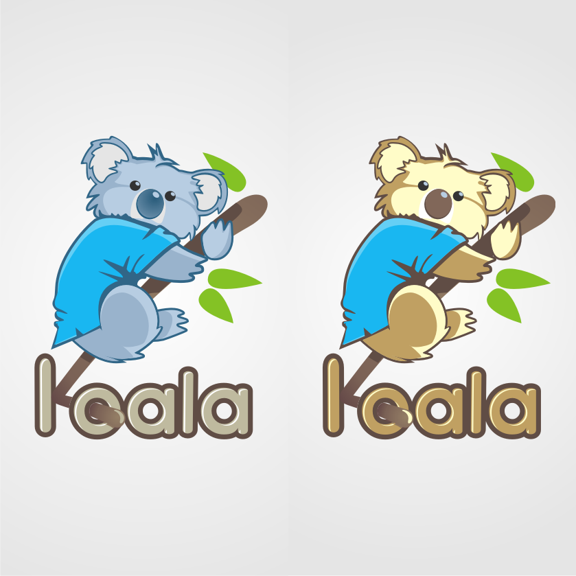 "Logo Design by graphicleaf - Entry No. 108 in the Logo Design Contest Imaginative Logo Design for ""Koala""."