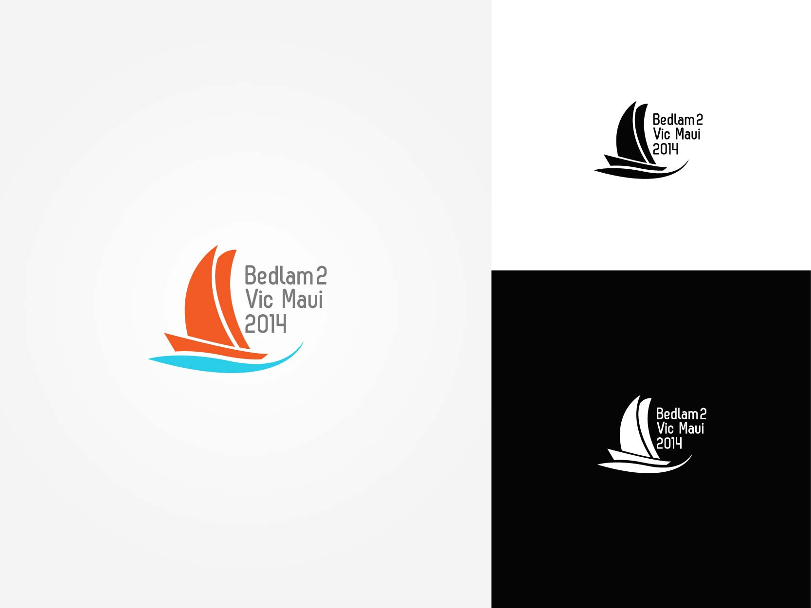 Logo Design by Osi Indra - Entry No. 40 in the Logo Design Contest Artistic Logo Design for Bedlam 2  Vic-Maui 2014.