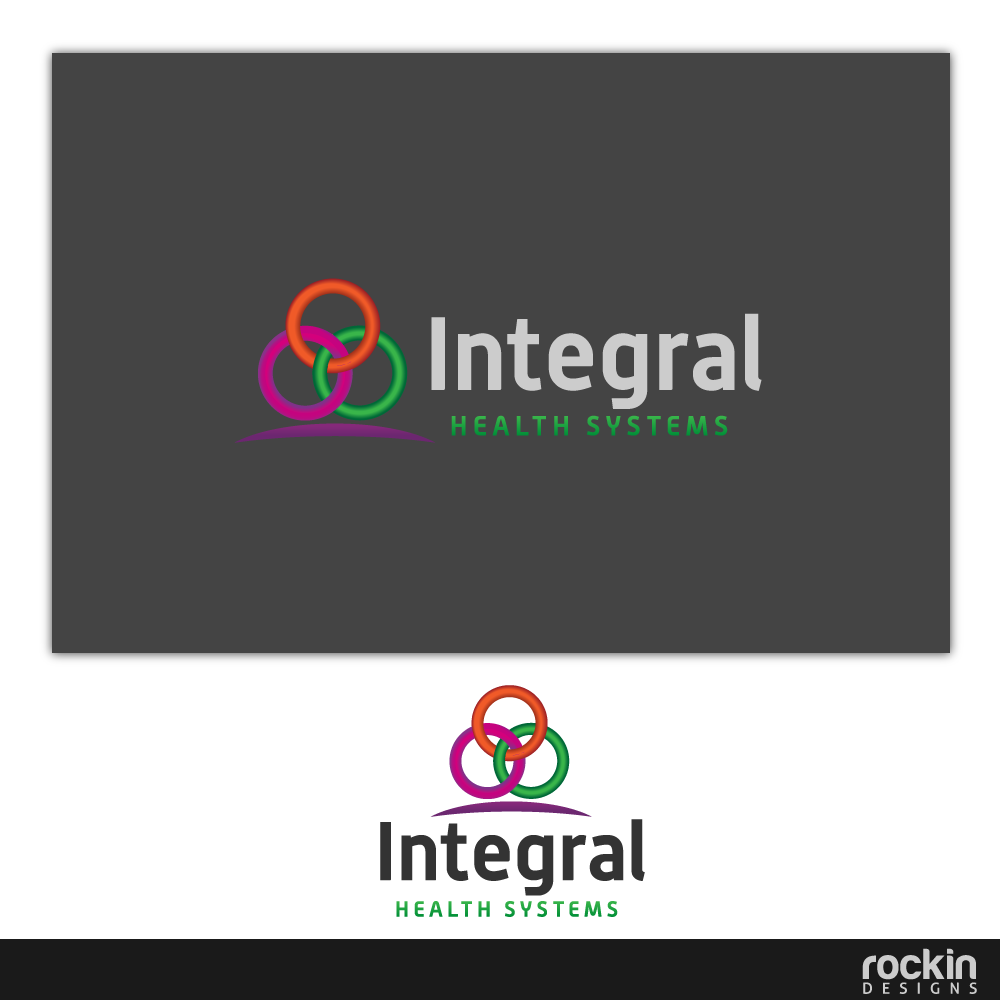 Logo Design by rockin - Entry No. 124 in the Logo Design Contest Unique Logo Design Wanted for Integral Health Systems.