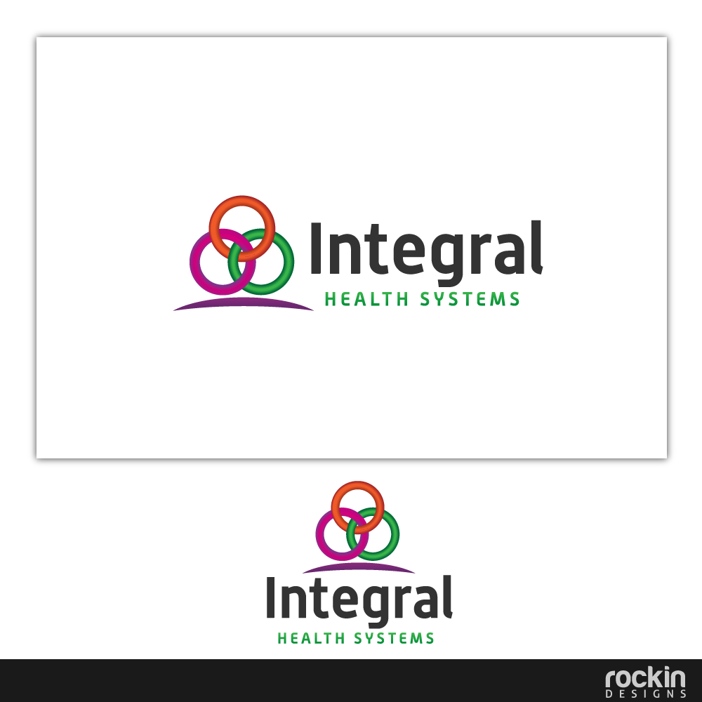 Logo Design by rockin - Entry No. 127 in the Logo Design Contest Unique Logo Design Wanted for Integral Health Systems.