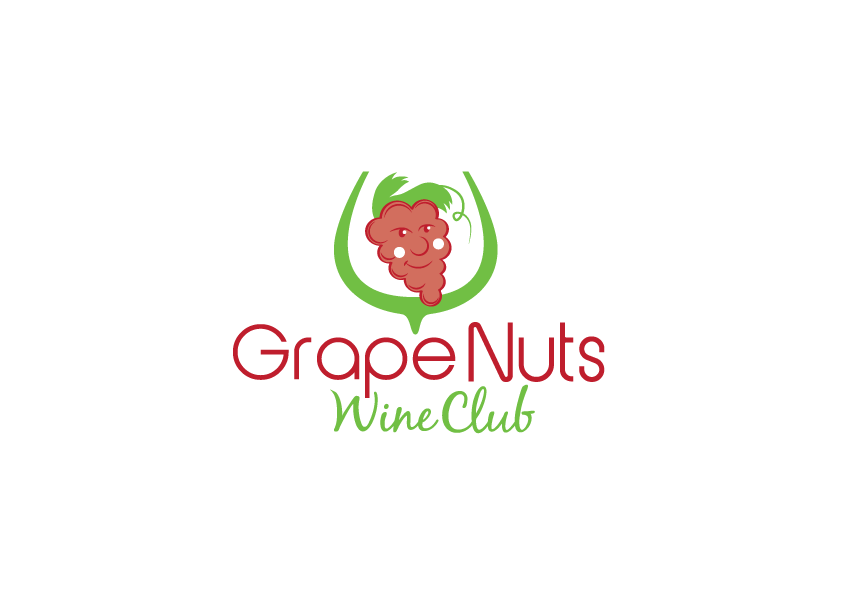 Logo Design by Severiano Fernandes - Entry No. 108 in the Logo Design Contest Artistic Logo Design for Grape Nuts Wine Club.
