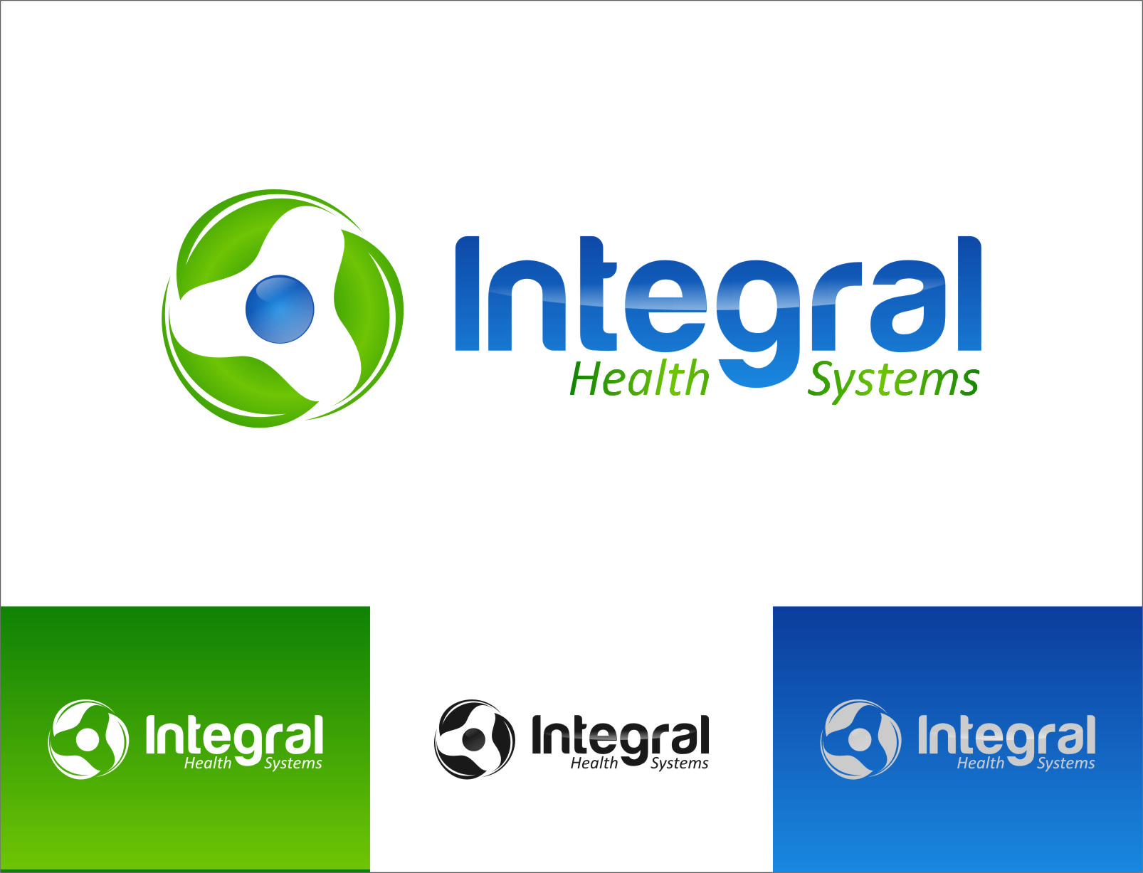 Logo Design by RoSyid Rono-Rene On Java - Entry No. 128 in the Logo Design Contest Unique Logo Design Wanted for Integral Health Systems.