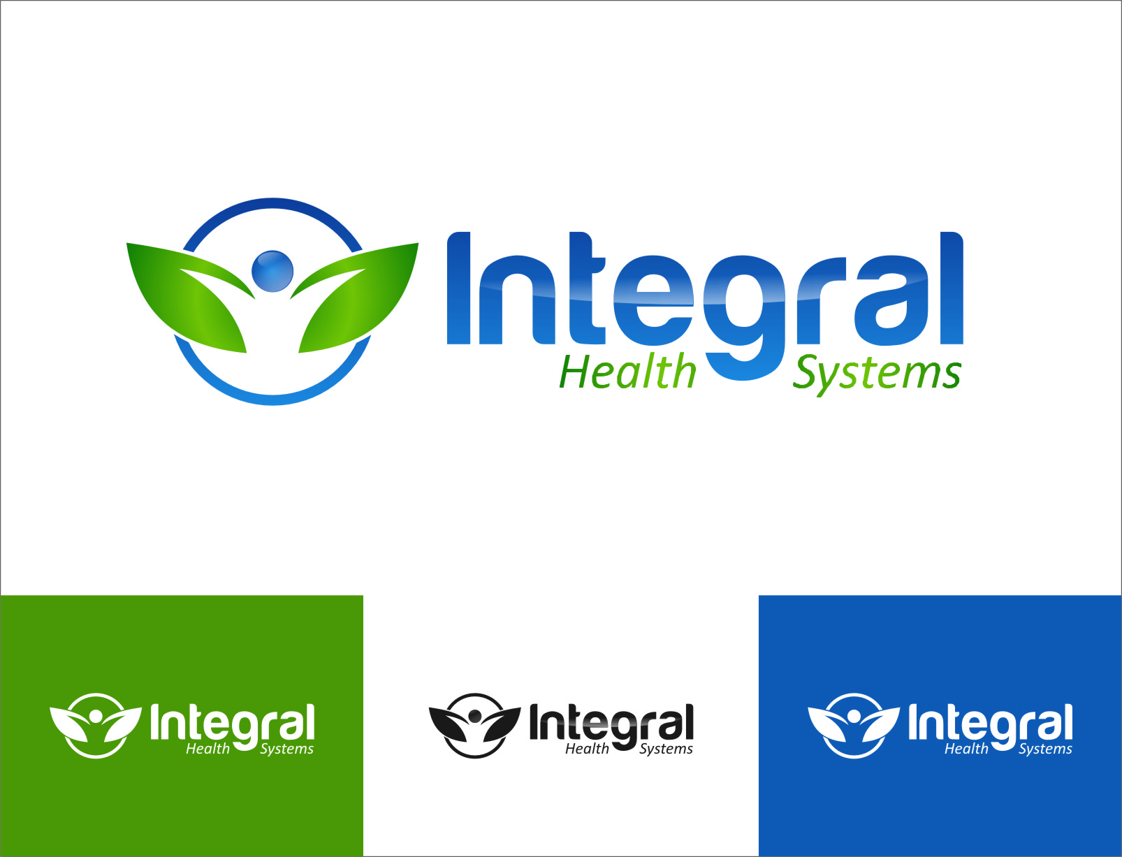 Logo Design by Ngepet_art - Entry No. 129 in the Logo Design Contest Unique Logo Design Wanted for Integral Health Systems.