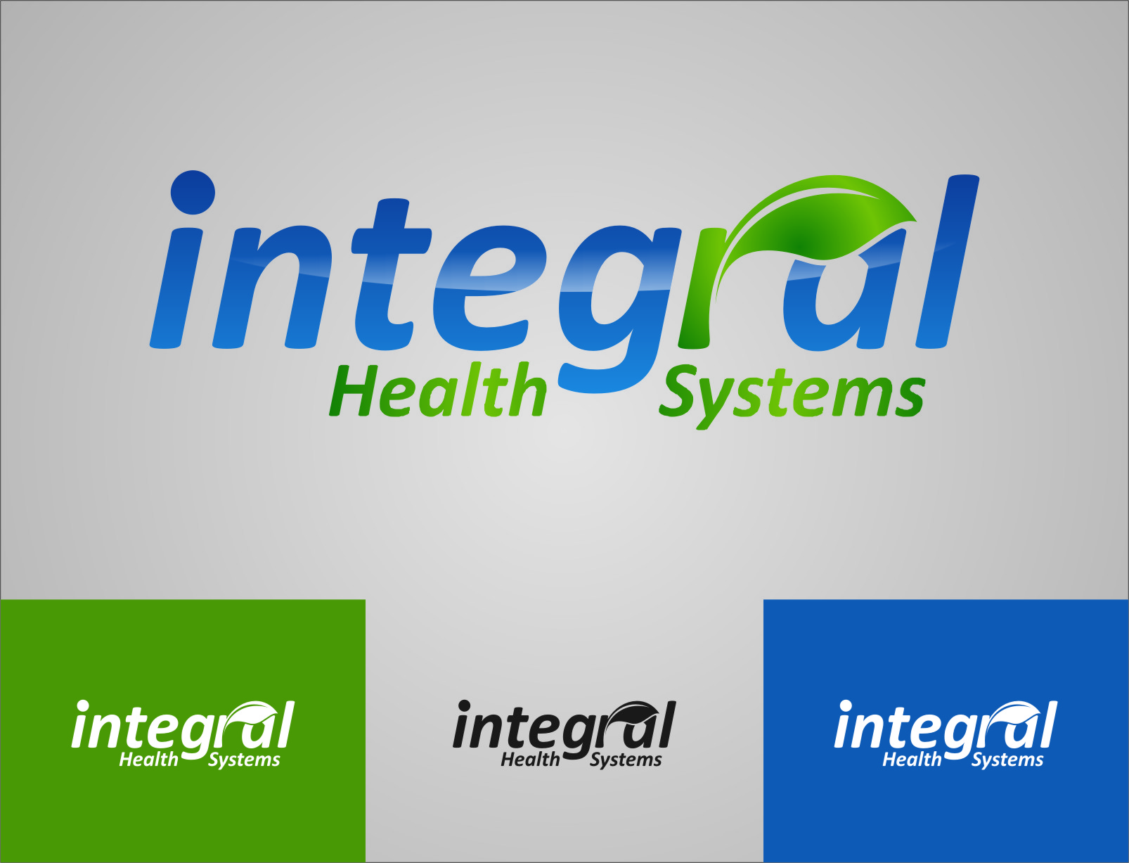 Logo Design by Ngepet_art - Entry No. 130 in the Logo Design Contest Unique Logo Design Wanted for Integral Health Systems.