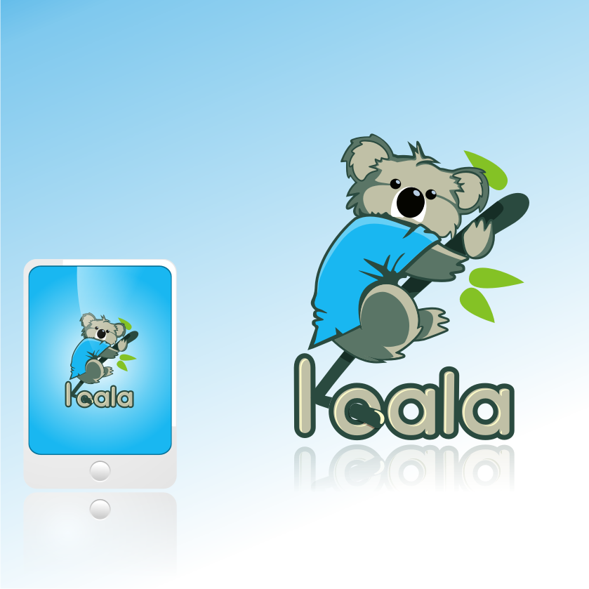 "Logo Design by graphicleaf - Entry No. 110 in the Logo Design Contest Imaginative Logo Design for ""Koala""."