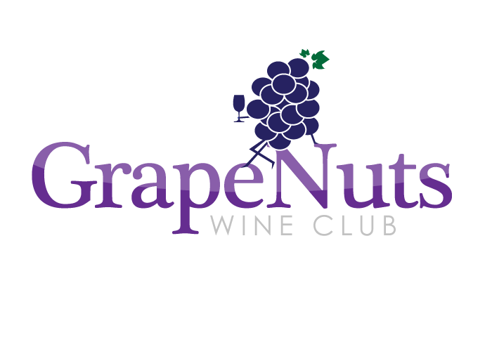 Logo Design by Jan Chua - Entry No. 109 in the Logo Design Contest Artistic Logo Design for Grape Nuts Wine Club.
