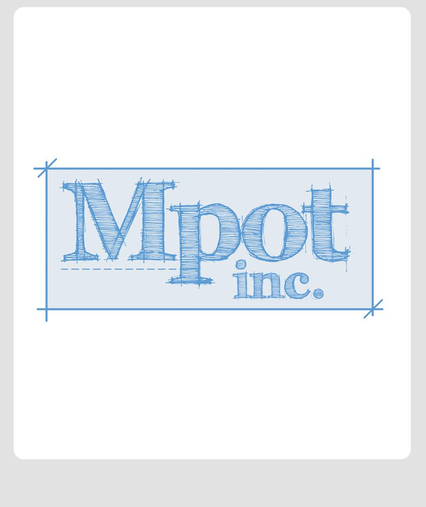Logo Design by Private User - Entry No. 286 in the Logo Design Contest Mpot inc  Logo Design.