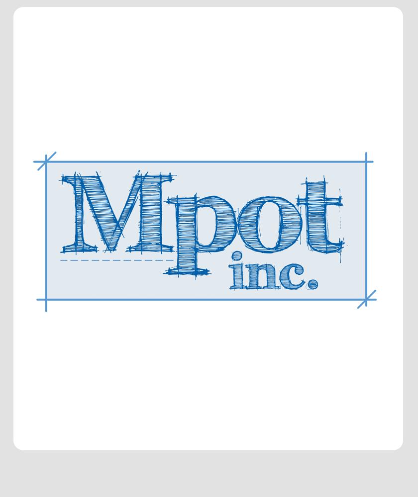 Logo Design by Private User - Entry No. 287 in the Logo Design Contest Mpot inc  Logo Design.