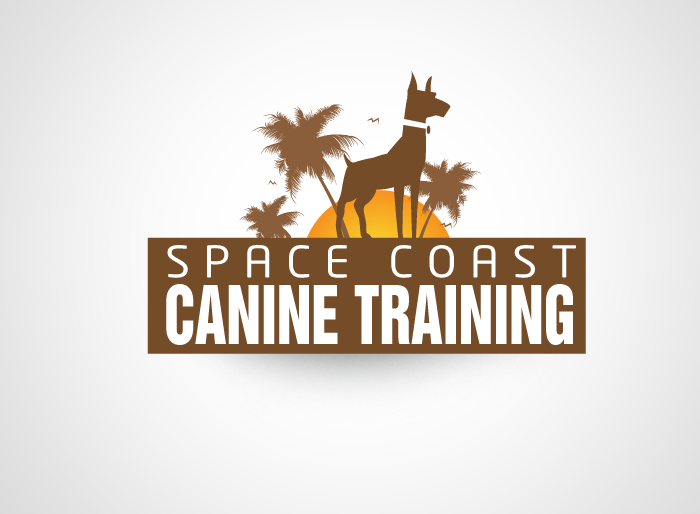 Logo Design by Jan Chua - Entry No. 63 in the Logo Design Contest Creative Logo Design for Space Coast Canine Training.