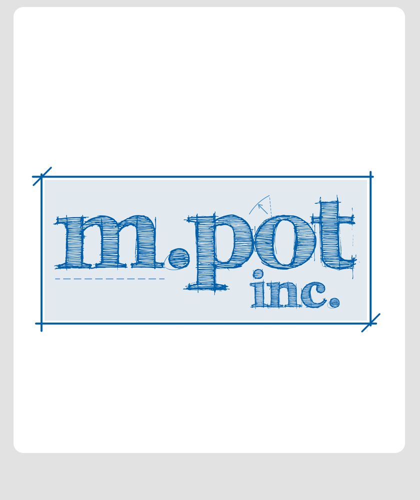 Logo Design by Robert Turla - Entry No. 295 in the Logo Design Contest Mpot inc  Logo Design.