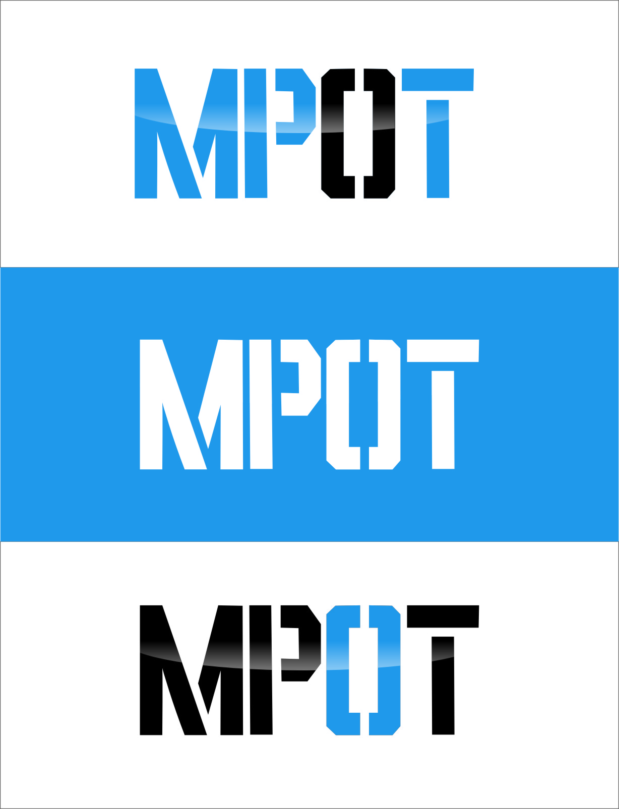 Logo Design by Ngepet_art - Entry No. 301 in the Logo Design Contest Mpot inc  Logo Design.