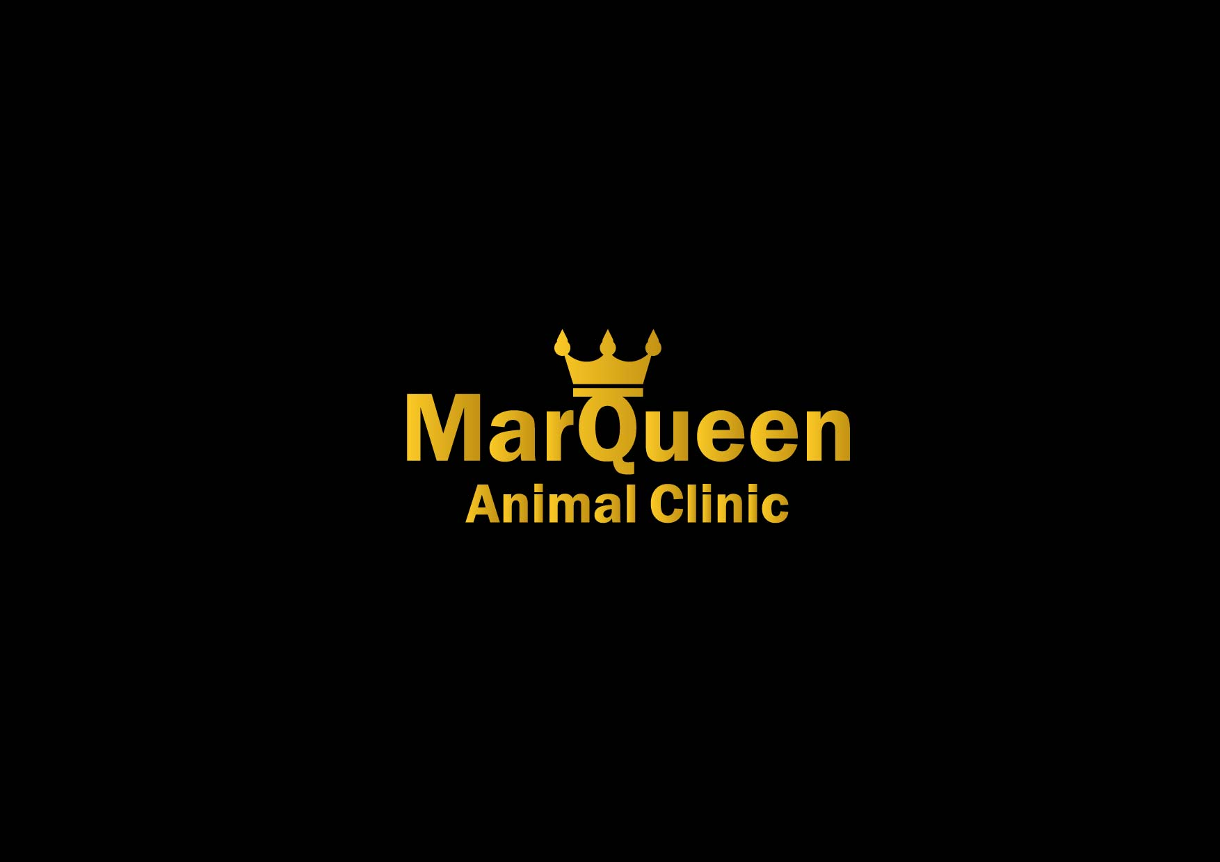 Logo Design by Osi Indra - Entry No. 44 in the Logo Design Contest Fun Logo Design for MarQueen Animal Clinic.