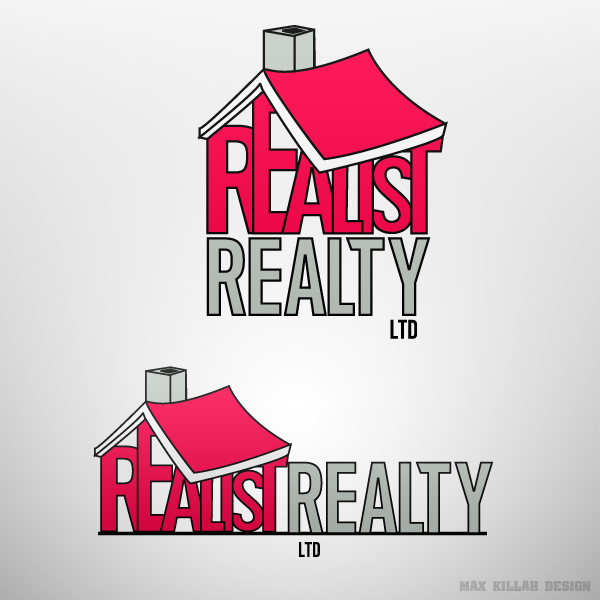 Logo Design by Max-Killah - Entry No. 155 in the Logo Design Contest ReaList Realty International Ltd..