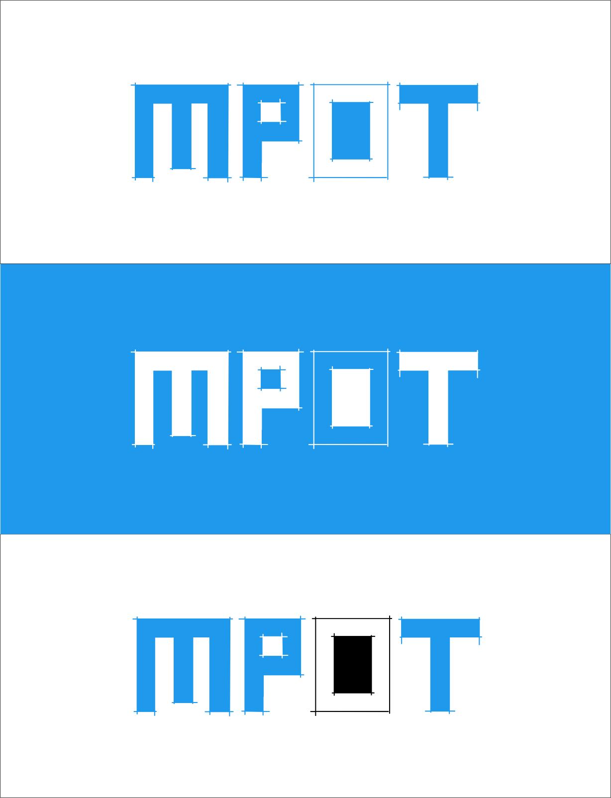 Logo Design by RasYa Muhammad Athaya - Entry No. 318 in the Logo Design Contest Mpot inc  Logo Design.