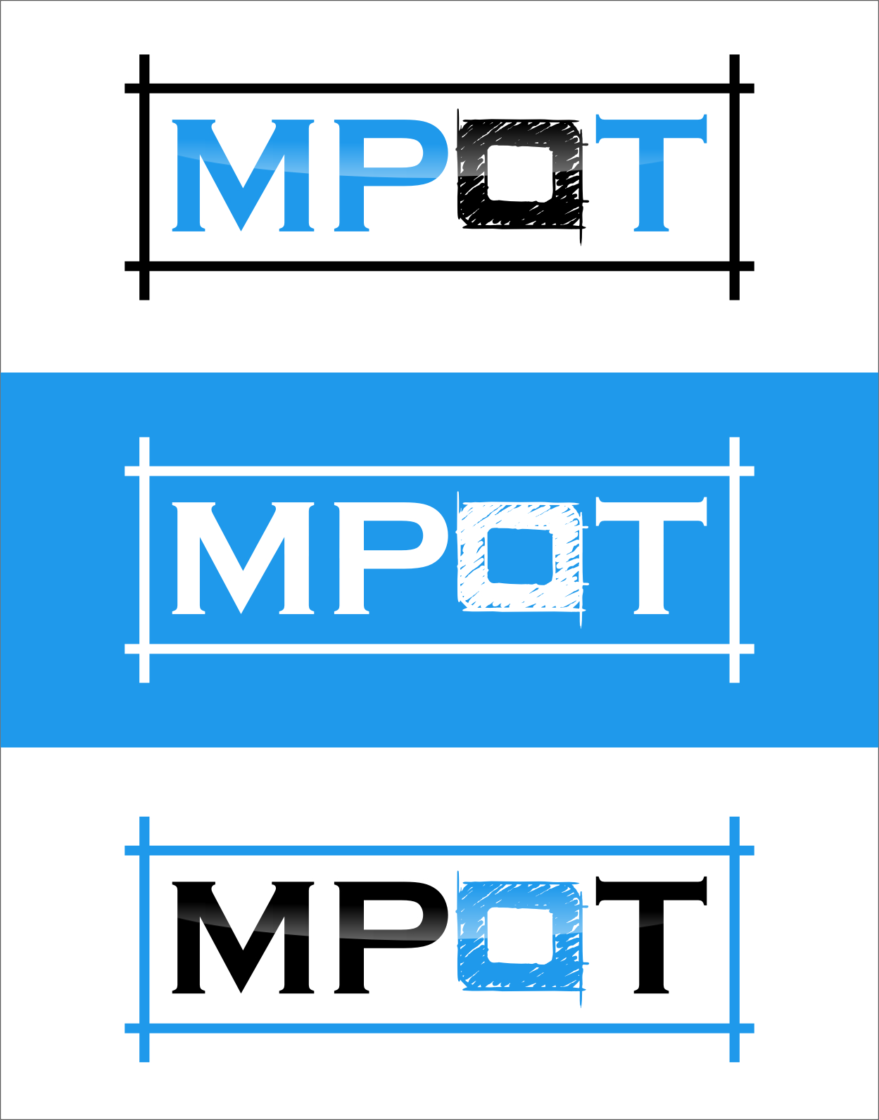 Logo Design by Ngepet_art - Entry No. 322 in the Logo Design Contest Mpot inc  Logo Design.