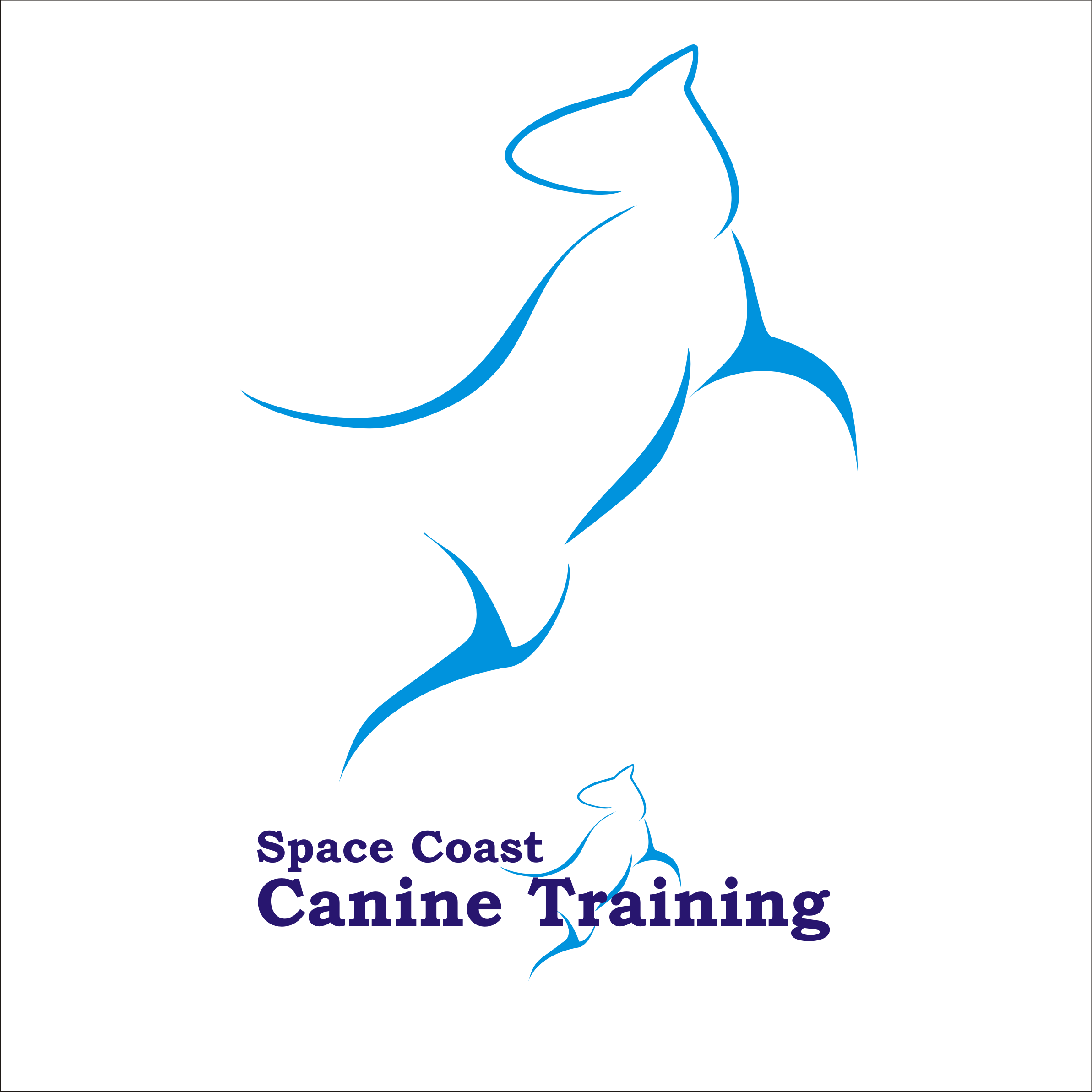 Logo Design by Private User - Entry No. 64 in the Logo Design Contest Creative Logo Design for Space Coast Canine Training.