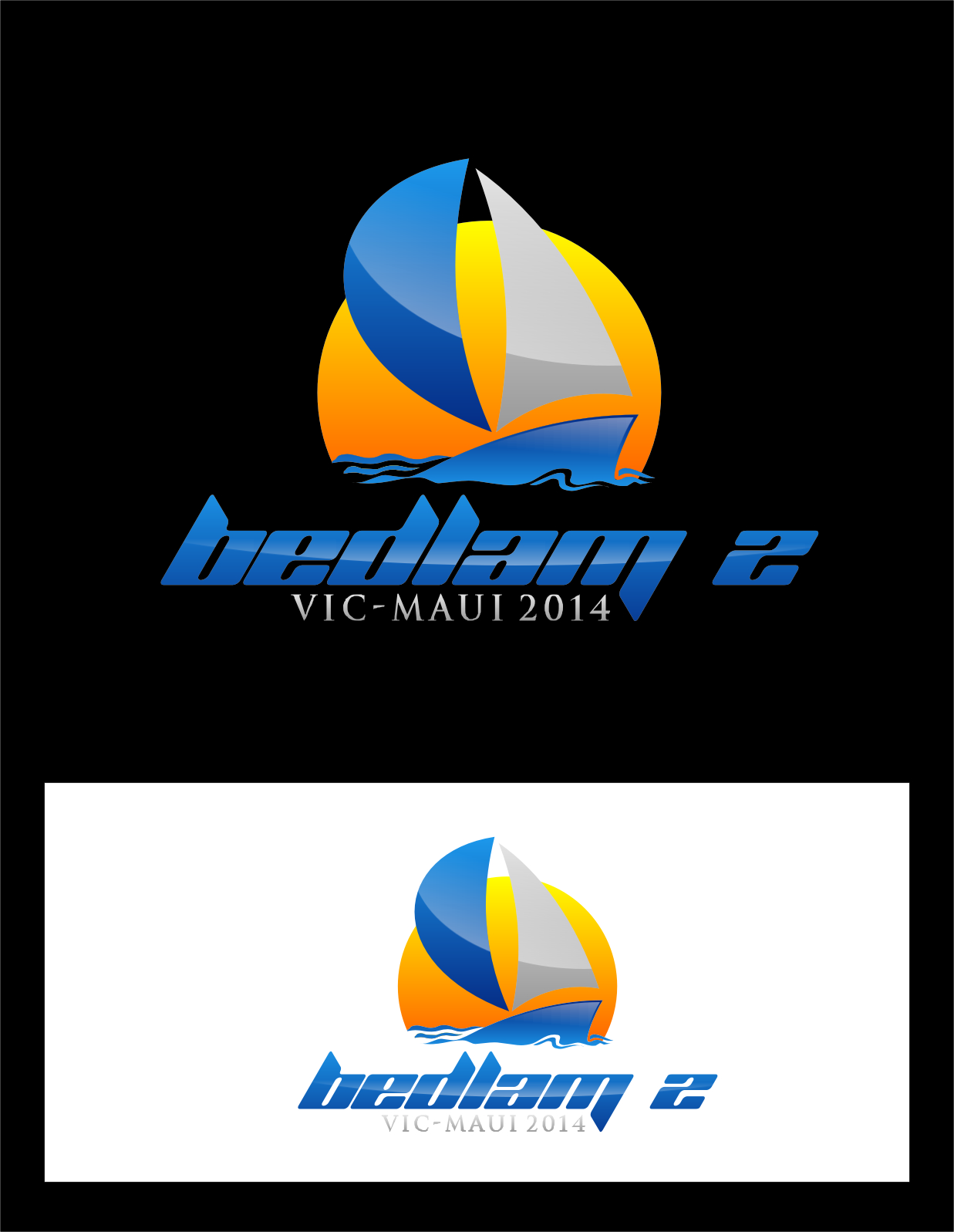 Logo Design by Ngepet_art - Entry No. 42 in the Logo Design Contest Artistic Logo Design for Bedlam 2  Vic-Maui 2014.