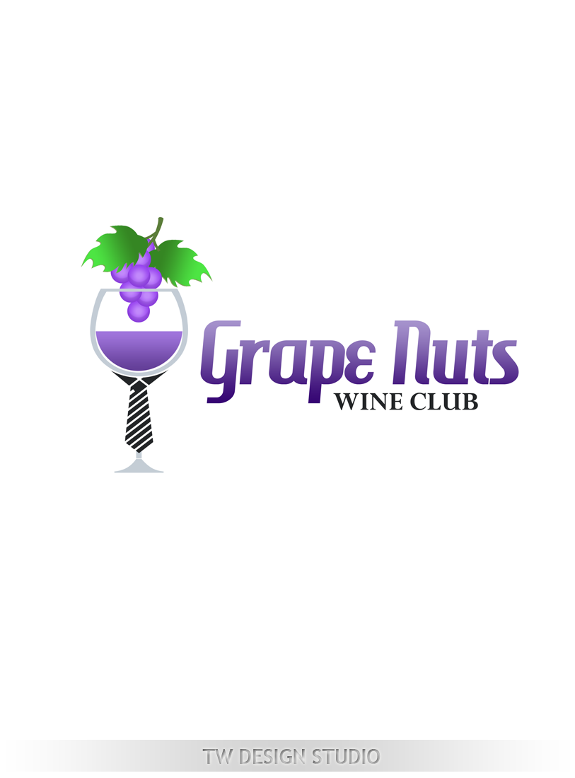 Logo Design by Private User - Entry No. 117 in the Logo Design Contest Artistic Logo Design for Grape Nuts Wine Club.