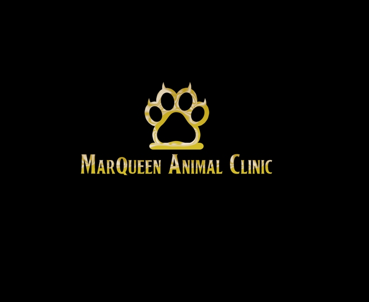 Logo Design by Juan_Kata - Entry No. 50 in the Logo Design Contest Fun Logo Design for MarQueen Animal Clinic.