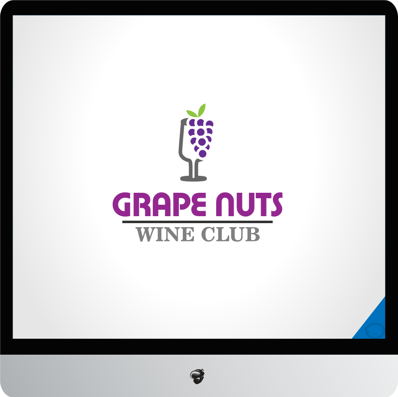 Logo Design by zesthar - Entry No. 118 in the Logo Design Contest Artistic Logo Design for Grape Nuts Wine Club.