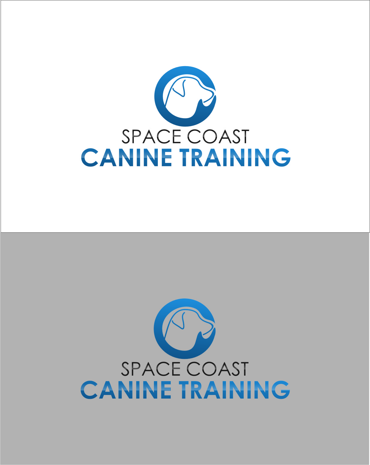 Logo Design by RasYa Muhammad Athaya - Entry No. 74 in the Logo Design Contest Creative Logo Design for Space Coast Canine Training.