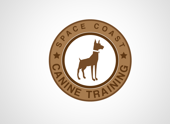 Logo Design by Jan Chua - Entry No. 76 in the Logo Design Contest Creative Logo Design for Space Coast Canine Training.
