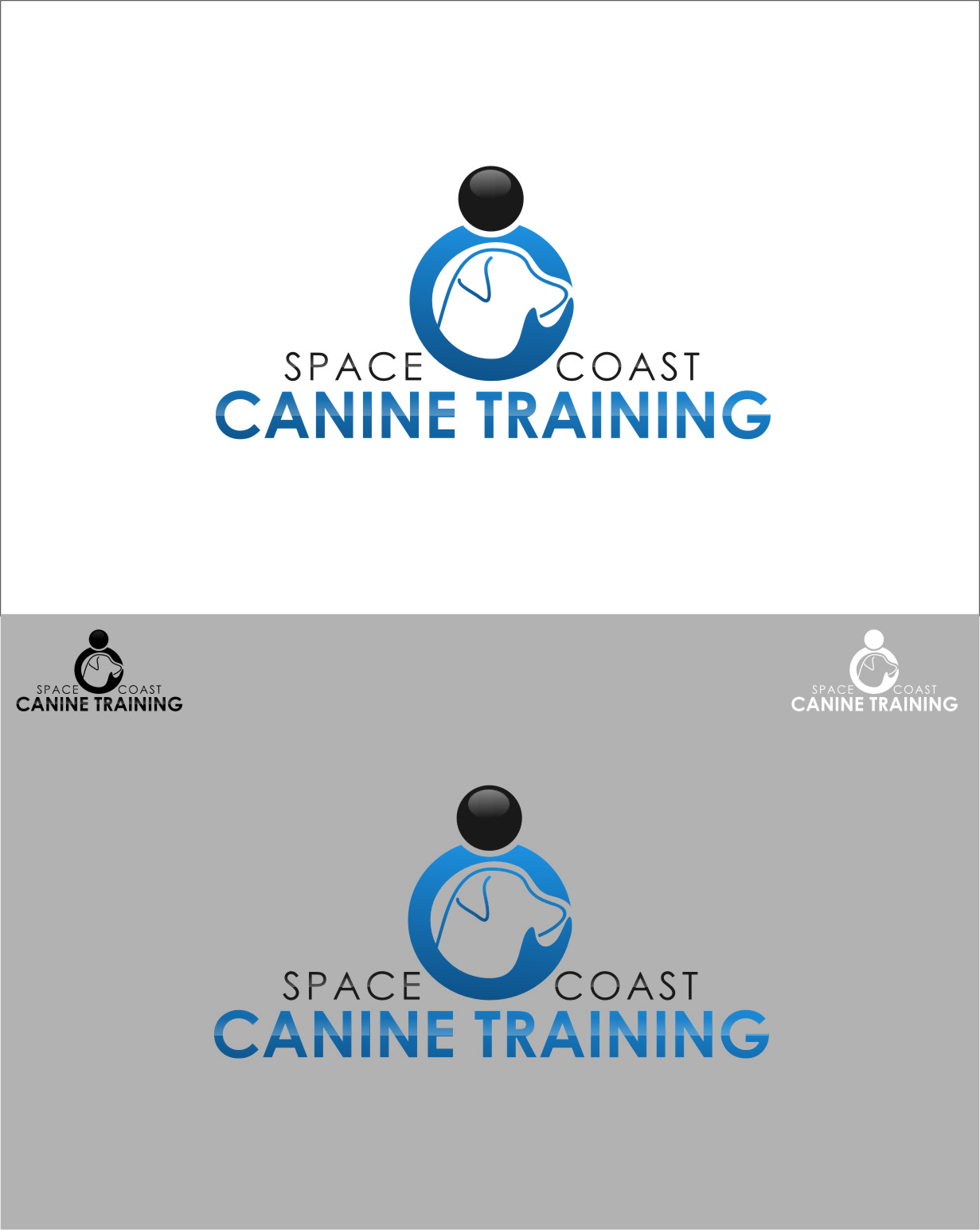 Logo Design by RasYa Muhammad Athaya - Entry No. 78 in the Logo Design Contest Creative Logo Design for Space Coast Canine Training.