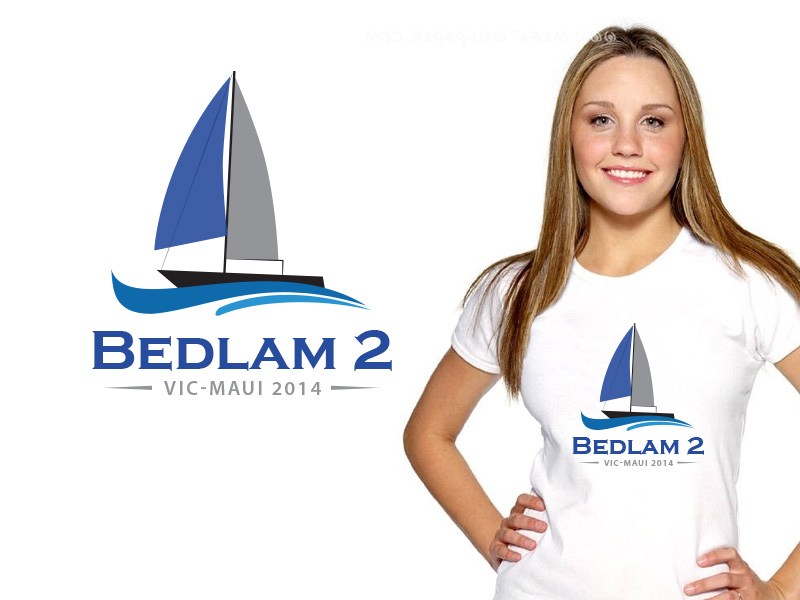 Logo Design by Sai Prathik - Entry No. 43 in the Logo Design Contest Artistic Logo Design for Bedlam 2  Vic-Maui 2014.