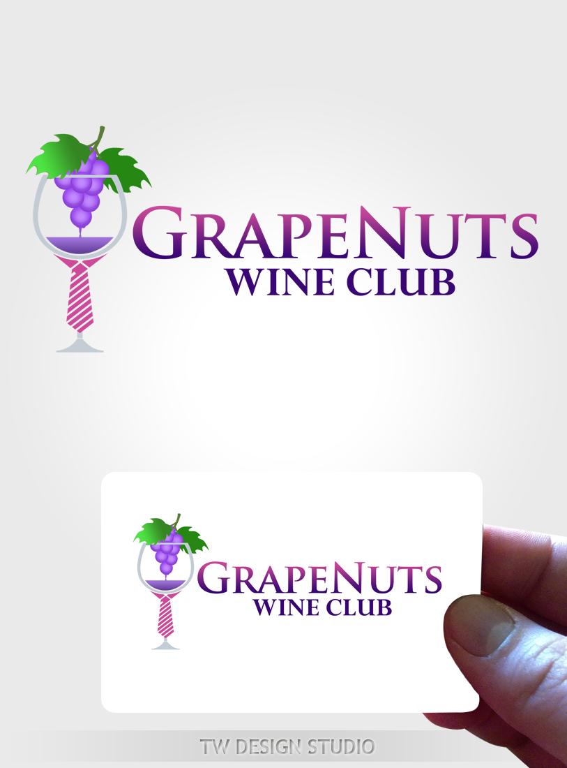 Logo Design by Private User - Entry No. 119 in the Logo Design Contest Artistic Logo Design for Grape Nuts Wine Club.