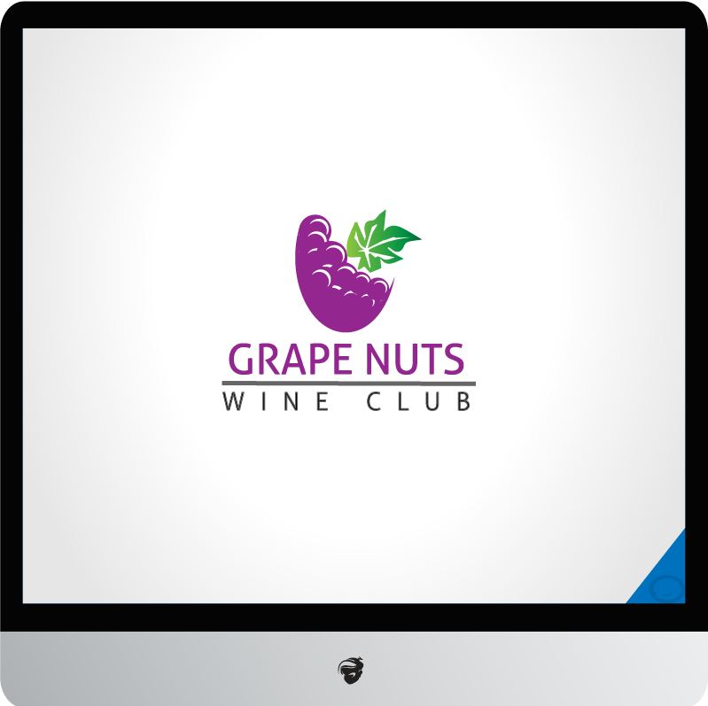 Logo Design by zesthar - Entry No. 120 in the Logo Design Contest Artistic Logo Design for Grape Nuts Wine Club.