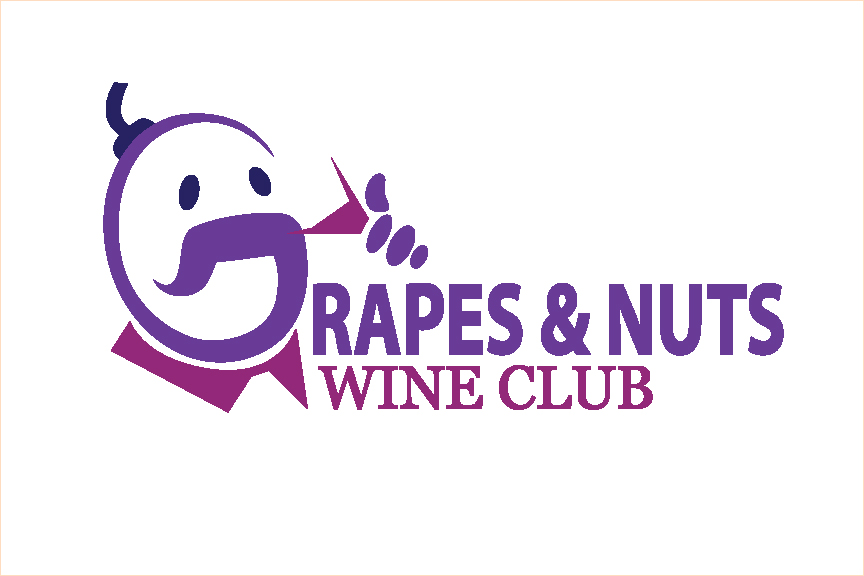 Logo Design by Nirmali Kaushalya - Entry No. 122 in the Logo Design Contest Artistic Logo Design for Grape Nuts Wine Club.