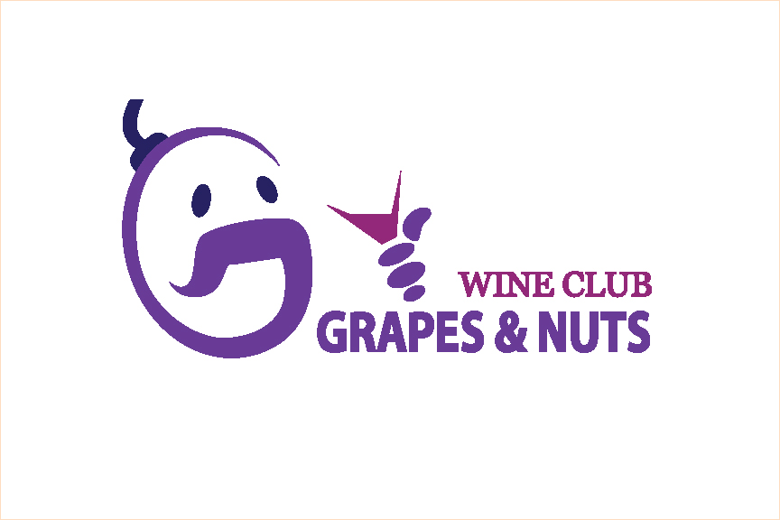 Logo Design by Nirmali Kaushalya - Entry No. 123 in the Logo Design Contest Artistic Logo Design for Grape Nuts Wine Club.