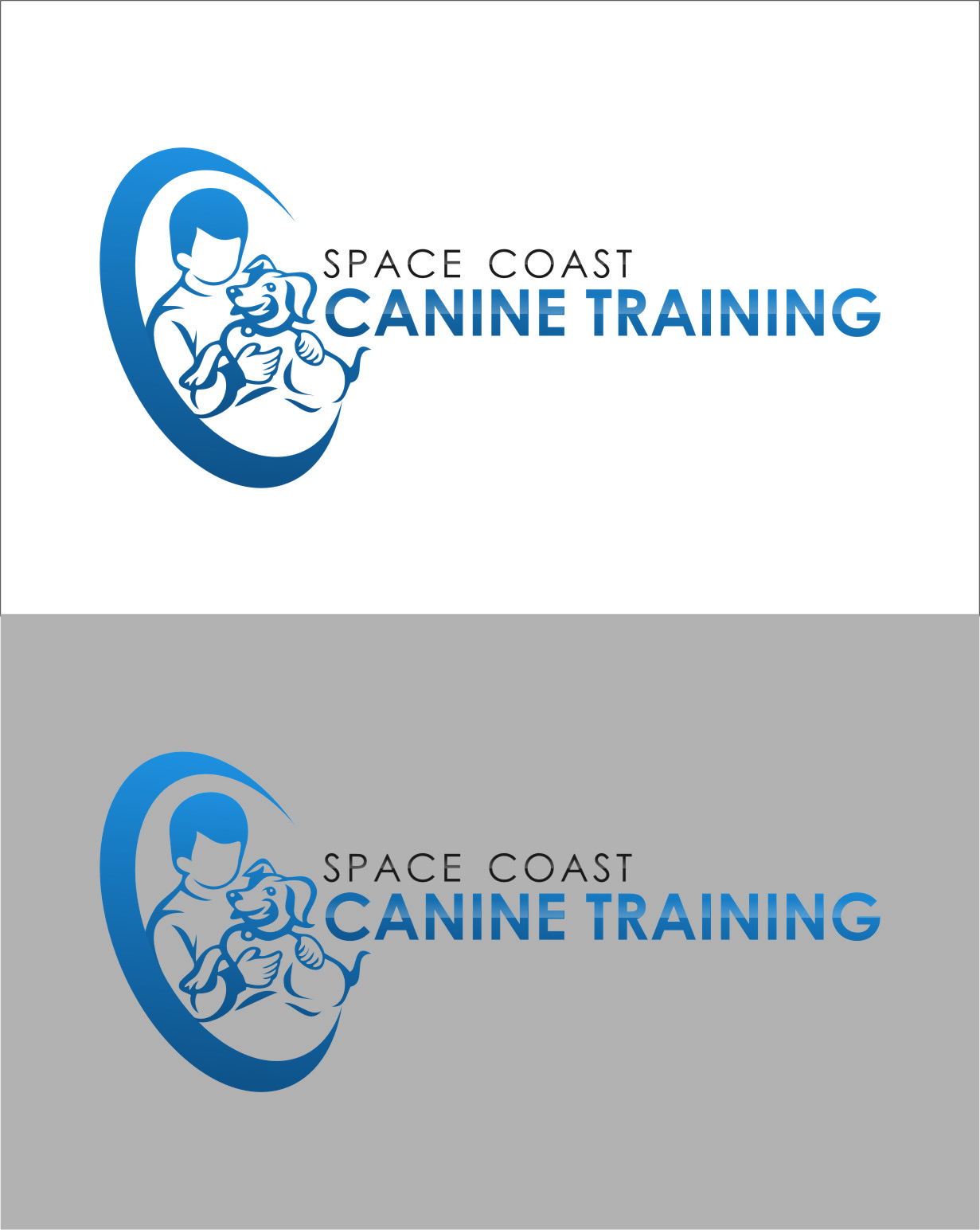Logo Design by RasYa Muhammad Athaya - Entry No. 79 in the Logo Design Contest Creative Logo Design for Space Coast Canine Training.
