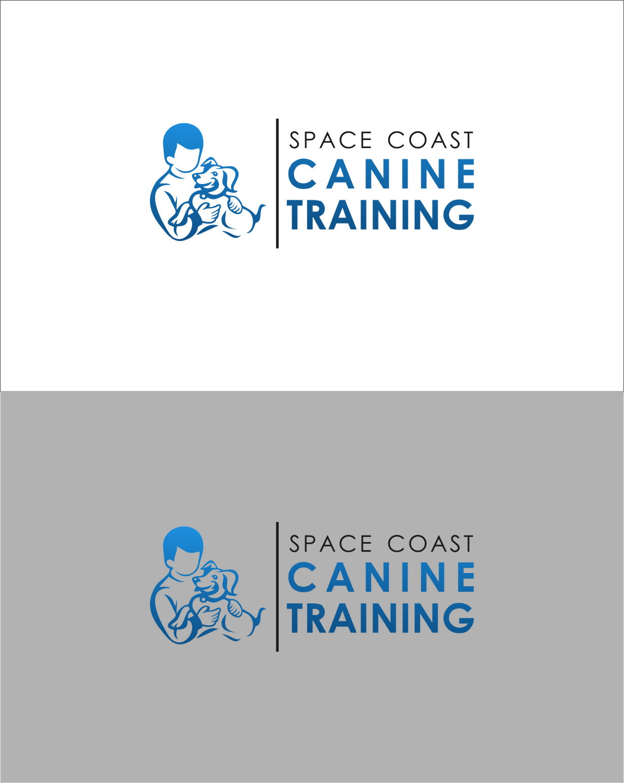Logo Design by Ngepet_art - Entry No. 80 in the Logo Design Contest Creative Logo Design for Space Coast Canine Training.