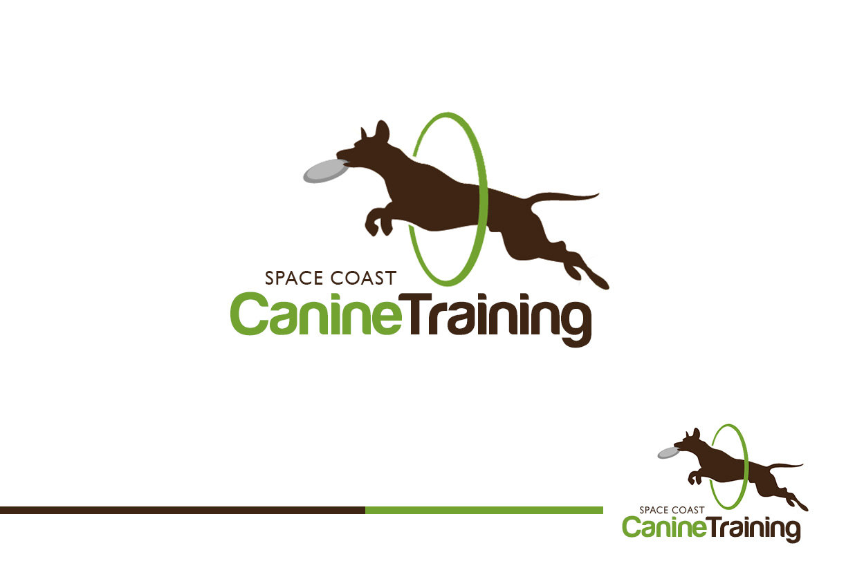 Logo Design by Sai Prathik - Entry No. 81 in the Logo Design Contest Creative Logo Design for Space Coast Canine Training.