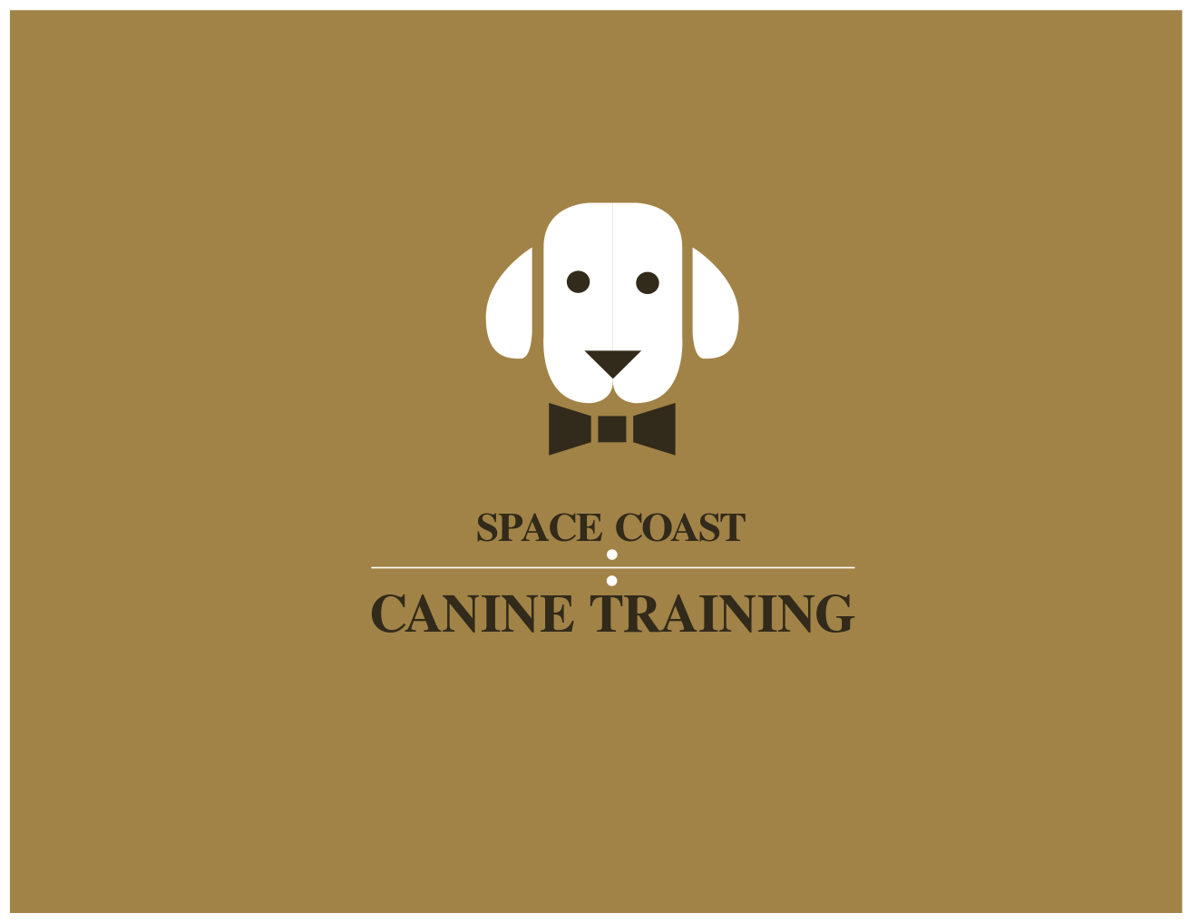 Logo Design by JaroslavProcka - Entry No. 82 in the Logo Design Contest Creative Logo Design for Space Coast Canine Training.