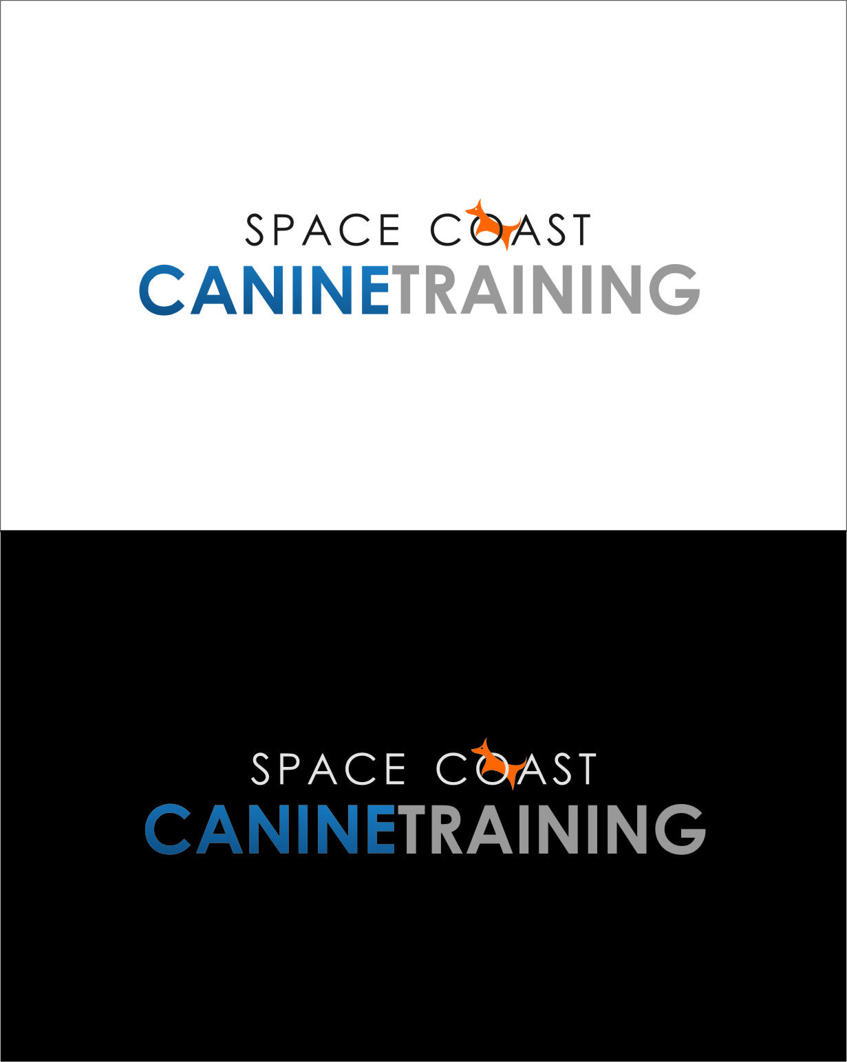 Logo Design by Ngepet_art - Entry No. 84 in the Logo Design Contest Creative Logo Design for Space Coast Canine Training.