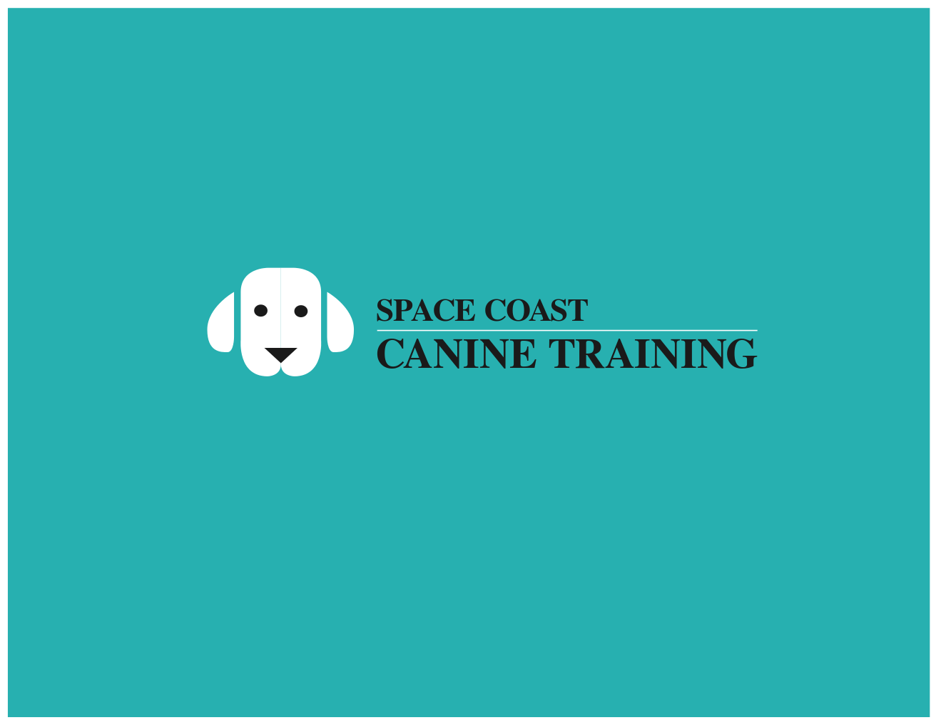 Logo Design by JaroslavProcka - Entry No. 85 in the Logo Design Contest Creative Logo Design for Space Coast Canine Training.