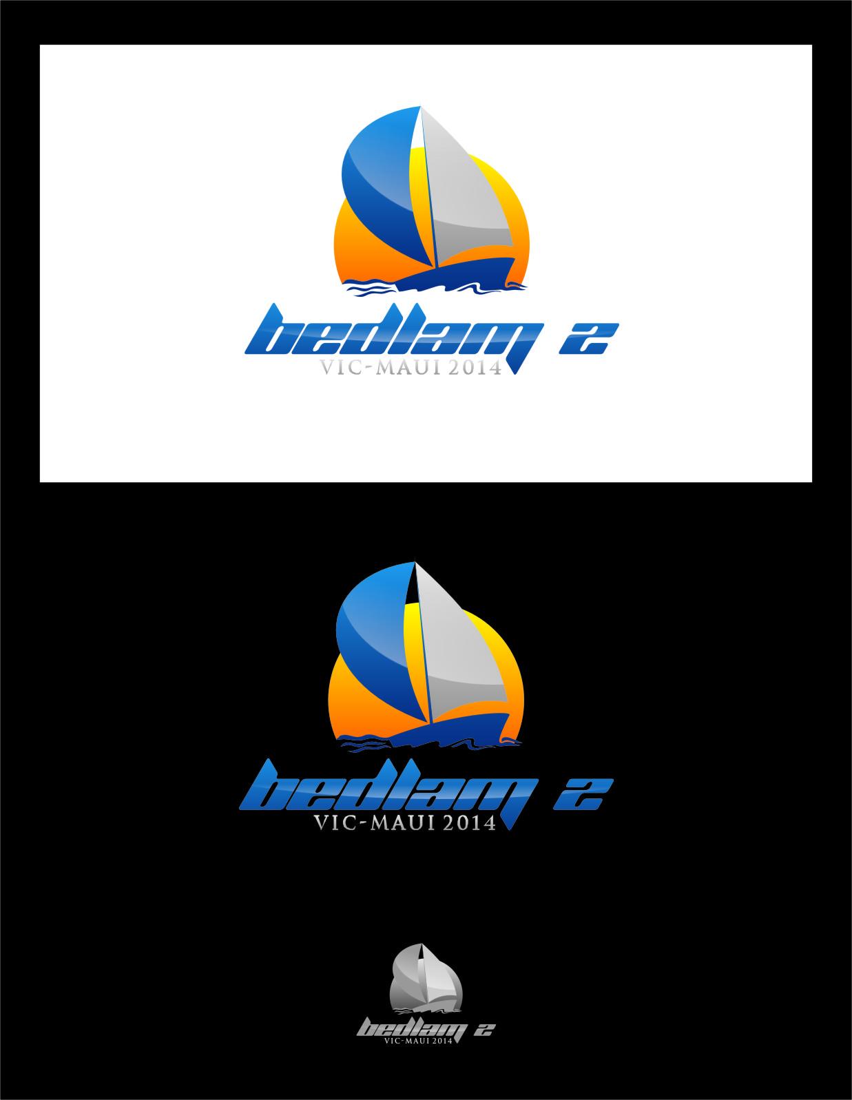Logo Design by RasYa Muhammad Athaya - Entry No. 45 in the Logo Design Contest Artistic Logo Design for Bedlam 2  Vic-Maui 2014.