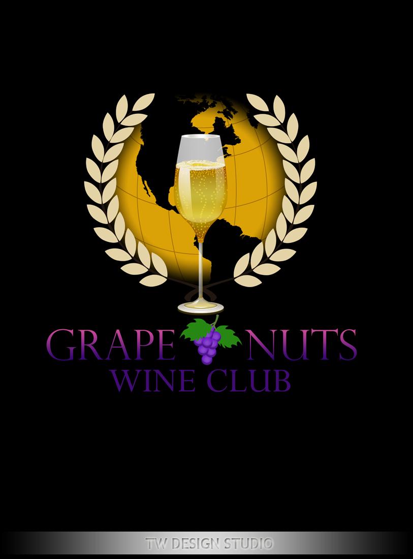 Logo Design by Private User - Entry No. 141 in the Logo Design Contest Artistic Logo Design for Grape Nuts Wine Club.