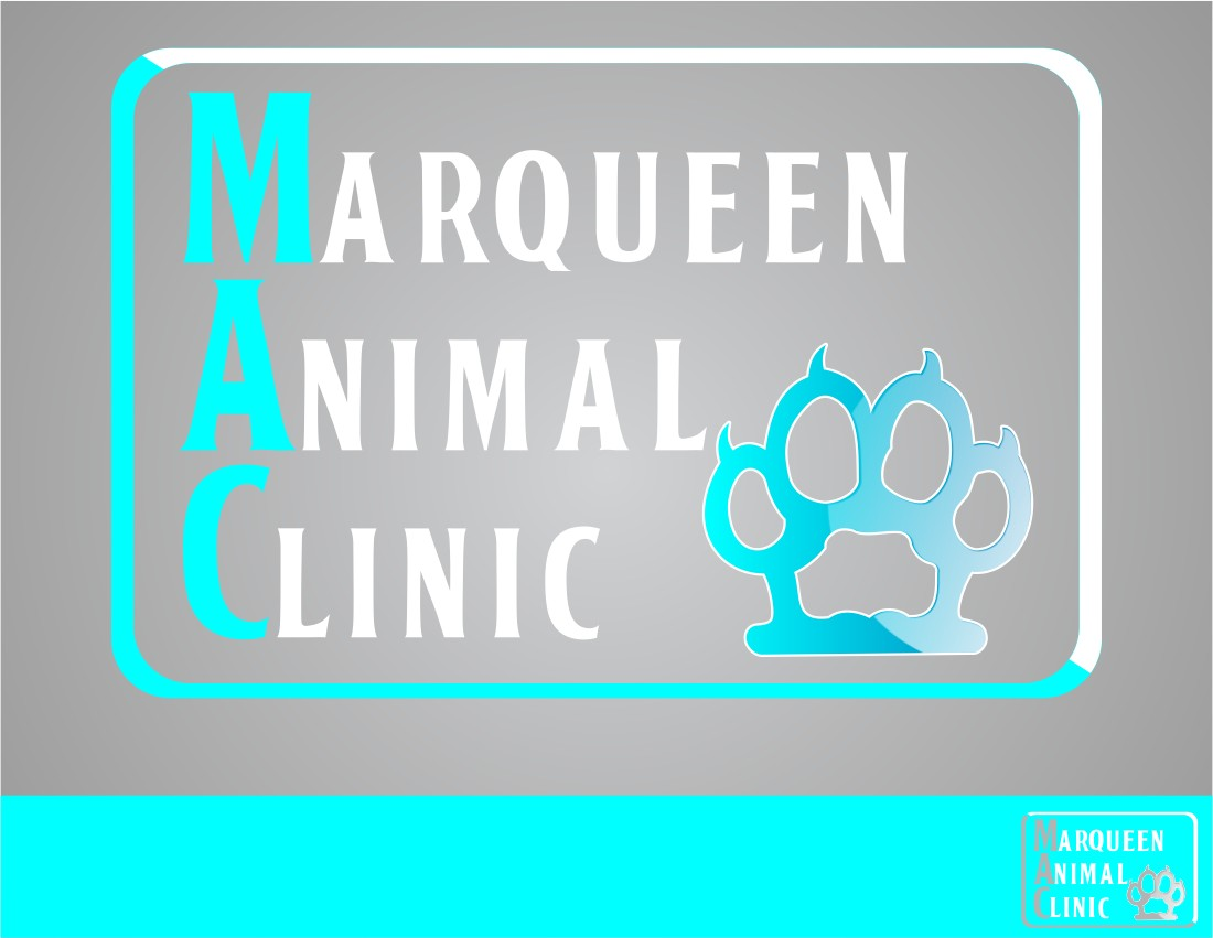 Logo Design by Crispin Jr Vasquez - Entry No. 58 in the Logo Design Contest Fun Logo Design for MarQueen Animal Clinic.